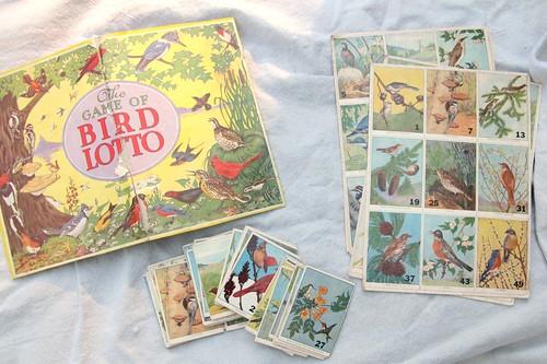 vintage bird lotto