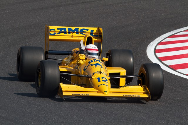 Satoru Nakajima - Lotus JUDD 101T