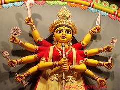 saradiya.. (Dr. Suvadeep Sen) Tags: india festival canon culture kolkata puja durga bengali suvadeep