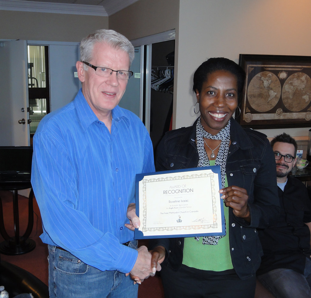 Certificate of Recognition - Roseline