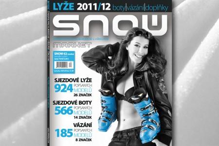 SNOW 62 Market 11/12 - lyže, vázání, sjezdové boty...