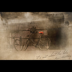 It's not about the bike (jinterwas) Tags: old orange netherlands dutch amsterdam bike bicycle sepia photoshop vintage free cc creativecommons nederlands oud oranje fiets selectivecolor freetouse magicunicornverybest magicunicornmasterpiece sailsevenseas