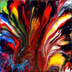 Colourful Fluid Art