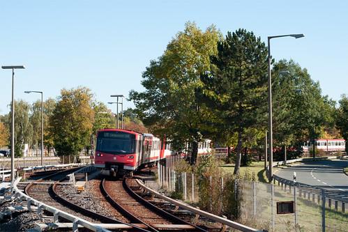 DT3F-Zug 768 verlässt die Messe