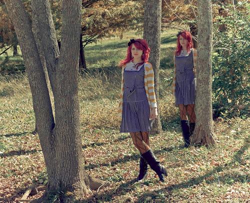 叶子的森林
