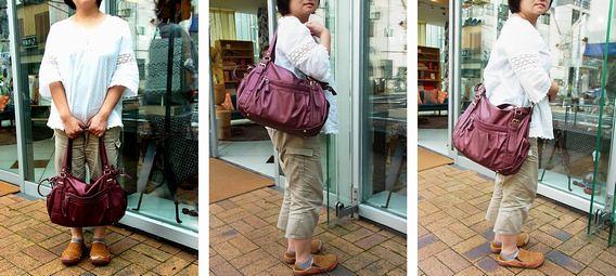 マルイの2wayバッグ『ラクチン快適バッグ』手に持つ・肩掛けショルダー・斜めがけショルダー