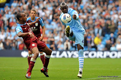 Balotelli in action (Manchester City FC - Official) Tags: city man club manchester football unitedkingdom stadium villa premier league aston mcfc etihad