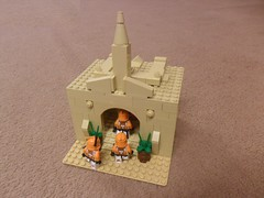 Entering the Temple (Fithboy) Tags: star lego wars cody clone commander legion 401st