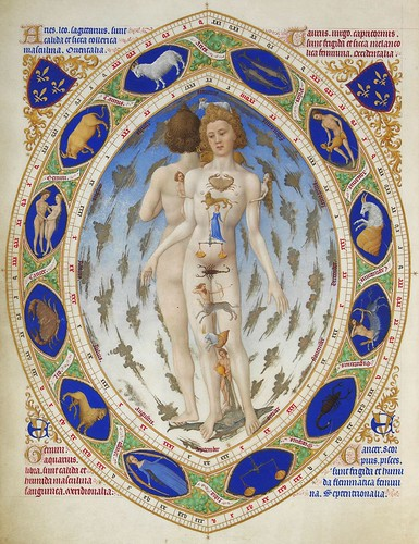 "Zodiac - Homo signorum from ""Les Très Riches Heures "" by petrus.agricola"