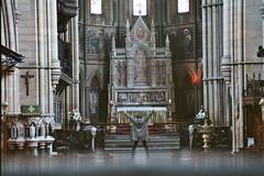 No Gods - No Masters * (Sterneck) Tags: no gods masters politics wolfgangsterneck wolfgang sterneck freedom kirche church jesus christus christentum christianity repression dance altar