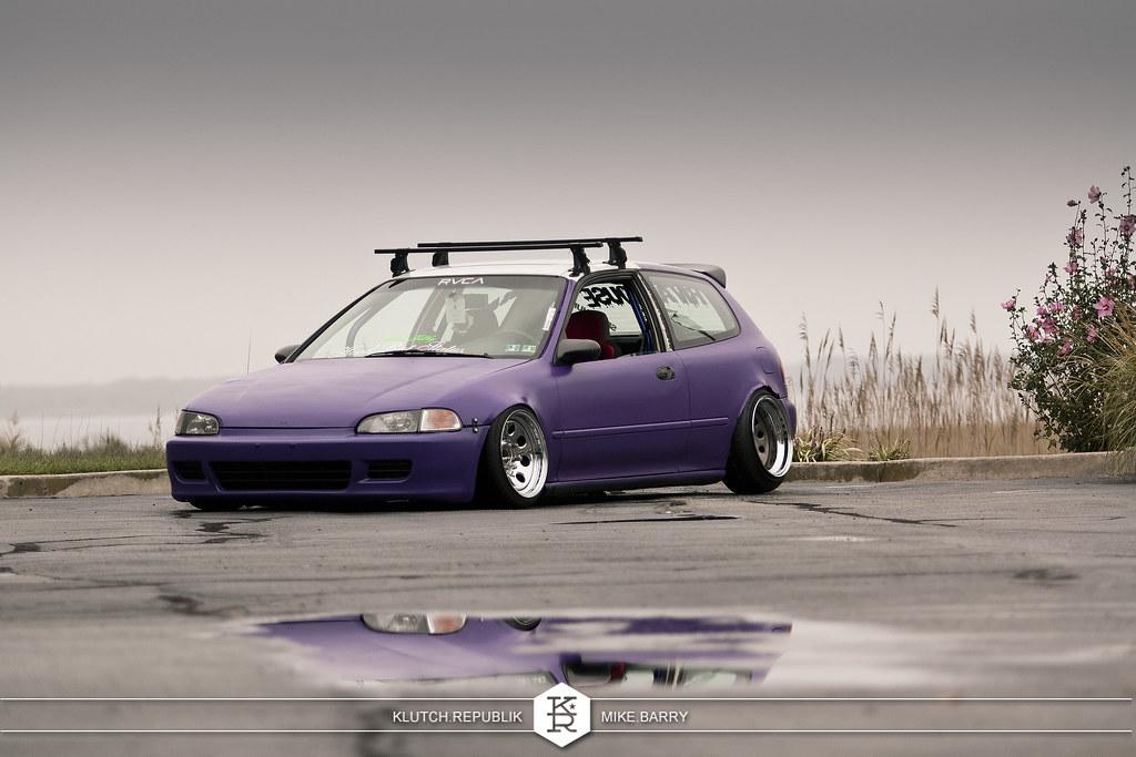 Honda Civic Eg Purple Nurple 6263863487_ce8f3f9df7_b