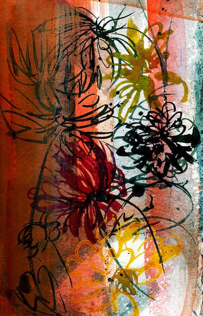 Dahlias, rough