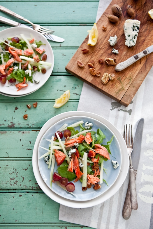 ... fennel orange and mint smoked salmon and egg salad smoked salmon