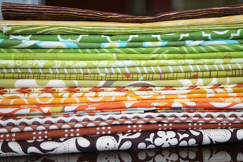 Fabric stack for {Sew} Beautiful