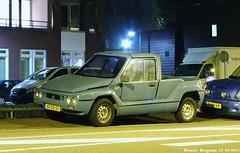 Mega Tjaffer 1.1i pick up 1995 (XBXG) Tags: auto old haarlem up car french automobile voiture 1995 pick mega ancienne franaise tjaffer 11i