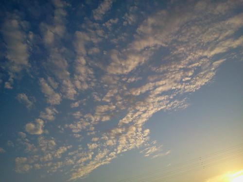 9月の夕焼け