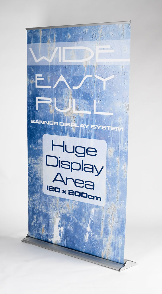 Executive extra wide roller banner