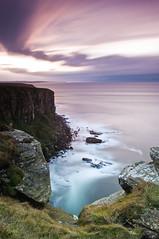 Dunnet Head Caithness (MJSFerrier) Tags: longexposure sunset seascape scotland nikon north northsea gloaming seacliffs caithness d300 cokin dunnethead 1755mm scottishcoastline mjsferrier bwnd10