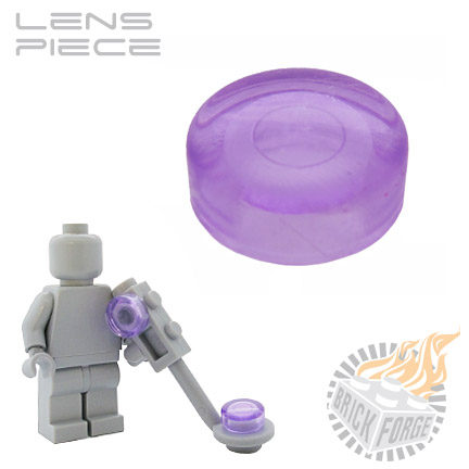 Lens Piece - Trans Purple