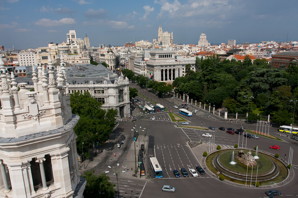 Palacio de Cibeles - Madri