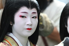 Heian Lady in the festival  --The Jidai Matsuri Festival-- (Teruhide Tomori) Tags: festival japan costume kyoto traditional parade geiko 京都 日本 heian jidaimatsuri 芸妓 平安 kamishichiken 時代祭 naokazu earthasia 尚可寿