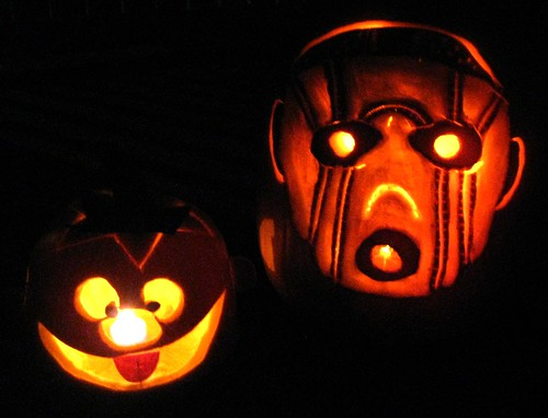 Our pumpkins by punkscrapper