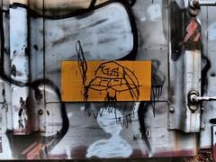 US SCOUT (grbenching) Tags: railroad train bench graffiti us steel trains marshall graff coal freight freights rollingstock coaltrain benching