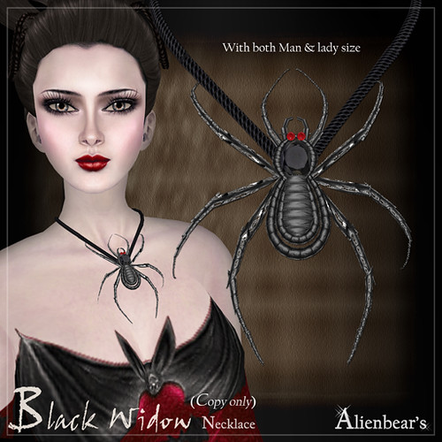 Black Widow Necklace NT