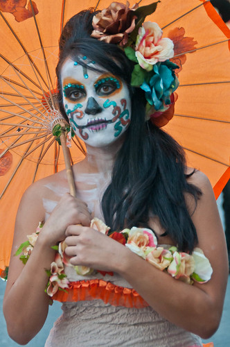 Calavera Daydream | Dia De Los Muertos Austin 2011