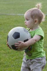 Ball Girl (Craig Dyni) Tags: girl toddler soccer madelyn alannah dyni