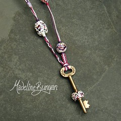 "key bead necklace - purple • <a style=""font-size:0.8em;"" href=""https://www.flickr.com/photos/37516896@N05/6294733096/"" target=""_blank"">View on Flickr</a>"