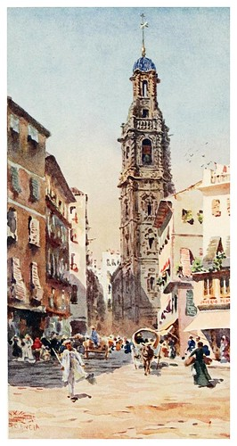 003-Catedral de San Pablo en Valencia-Cathedral cities of Spain 1909- William Wiehe Collins