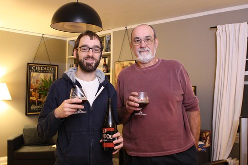 Nate and Dad: Beer Guys