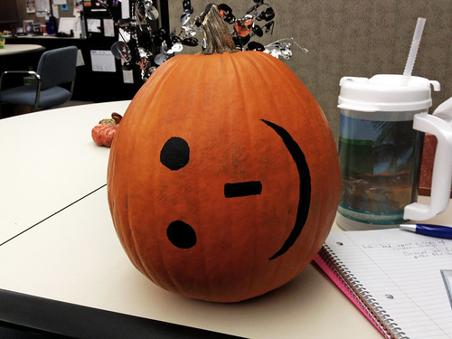Pumpkin Emoticon