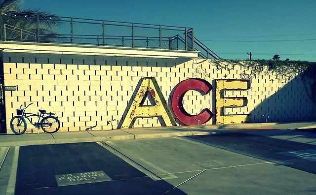 ACE hotel sign