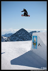 MO__7028_ps_web (Andreas Mohaupt I Photographer) Tags: november sun fall sport clouds fun austria autum extreme bluesky glacier snowboard opening tyrol method funpark 2011 stubaiergletscher backsideair abor backside540 romesds wwwandreasmohauptcom stubaizoo