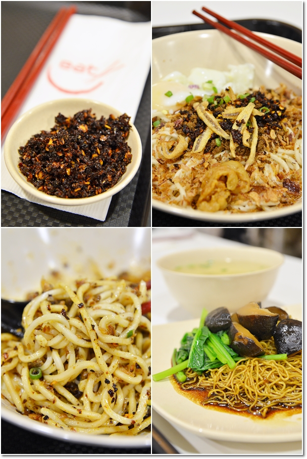 Kin Kin Chili Pan Mee & Wantan Mee @ Eat Food Village