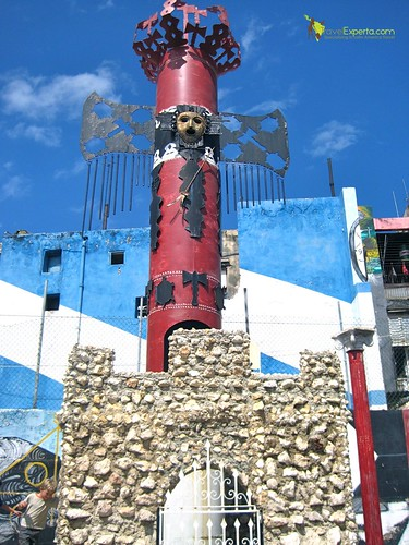 Art Work of Callejon de Hamel, Habana Cuba