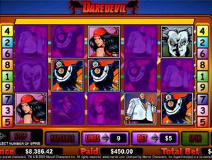 Daredevil bonus game