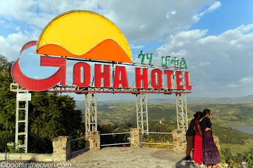 Goha Hotel, overlooking Gondar