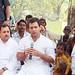 Rahul Gandhi in village chaupal, Sant Ravidas Nagar (5)