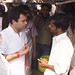 Rahul Gandhi taking Tea on a street dhaba, Sant Ravidas Nagar (3)