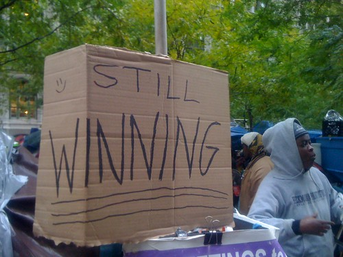 Seen At Zuccotti Park