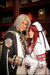 Abel Nightroad & Esther Blanchett (Trinity Blood) Cosplay