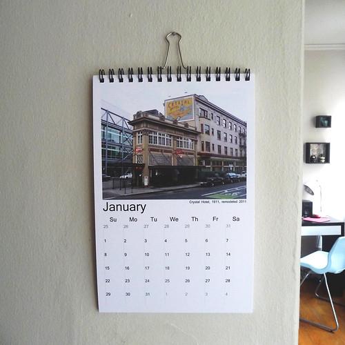 2012 Calendar - Portland, OR Architecture