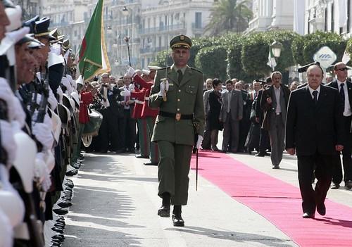 Abdelaziz Bouteflika, A Alger Centre pour l'ouverture du Métro d'Alger, Algérie.