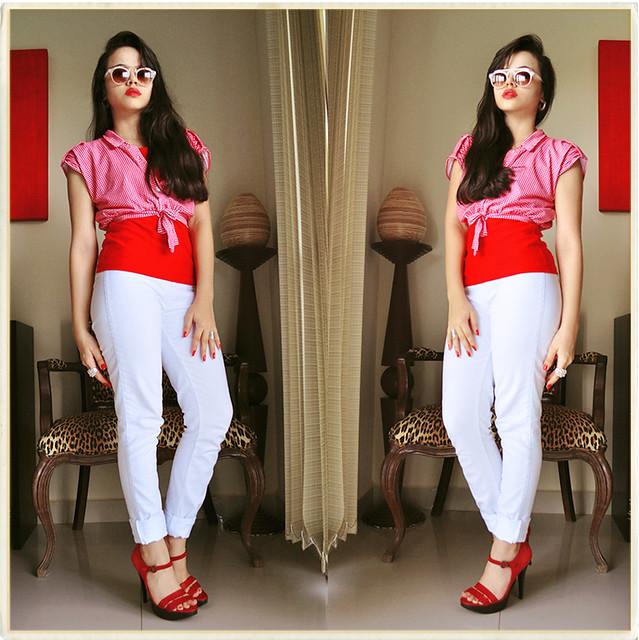 Vermelho e branco <3