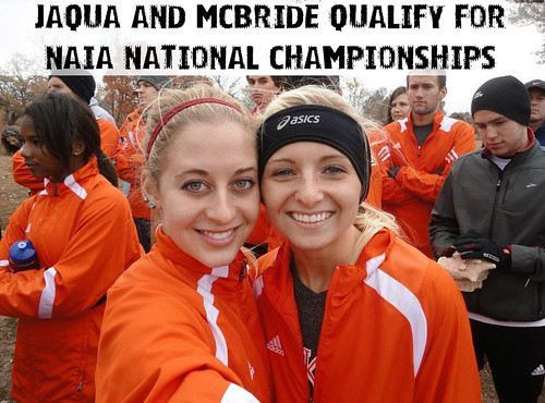 Jaqua and McBride qualify for nationals
