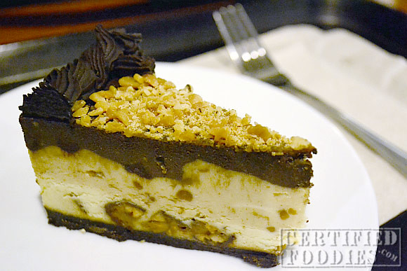 Starbucks Triple Decker Cheesecake with Snickers