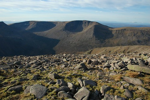 Braeriach from Ben Macdui